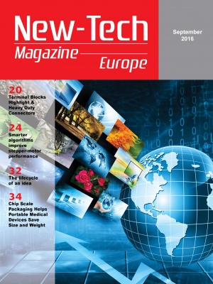 New-Tech Europe Magazine | Sep 2016