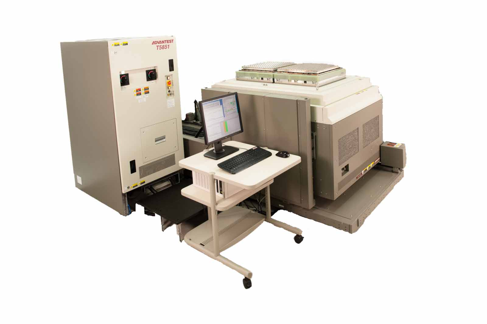 Semiconductor Test Equipment : New techeurope advantest s high speed t