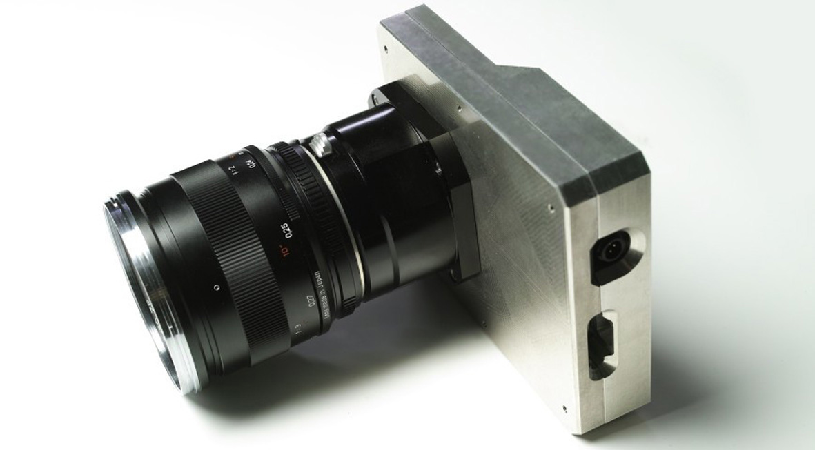 Figure 4: Lightweight K71 camera in a magnesium housing, weighing just 420 grams
