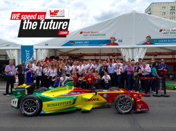 , Formula E technology partnership between Würth Elektronik eiSos and ABT Schaeffler Audi Sport