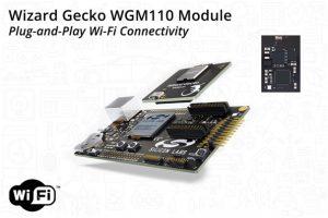 Figure 2: The WGM110A1MV1 Wizard Gecko