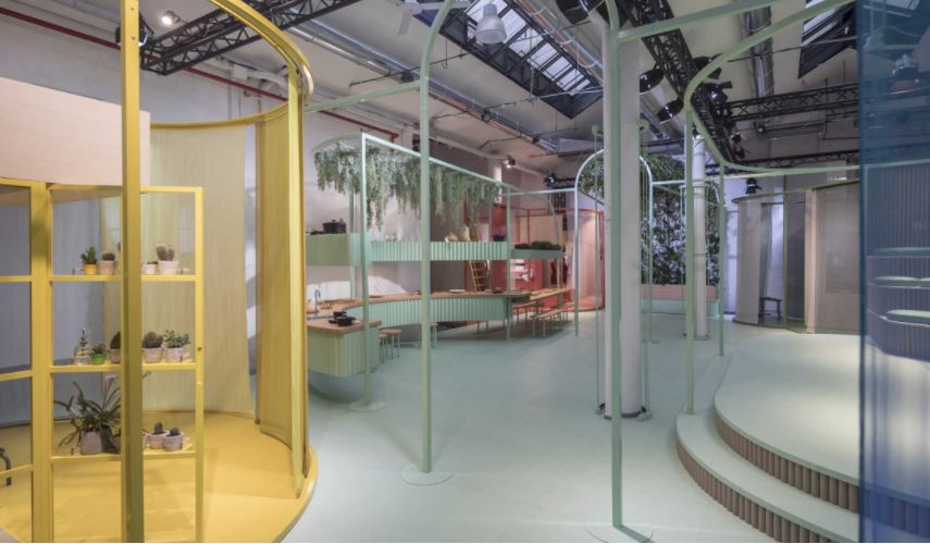 , MINI LIVING – BUILT BY ALL. MINI presents visionary living concept at Milan Design Week.
