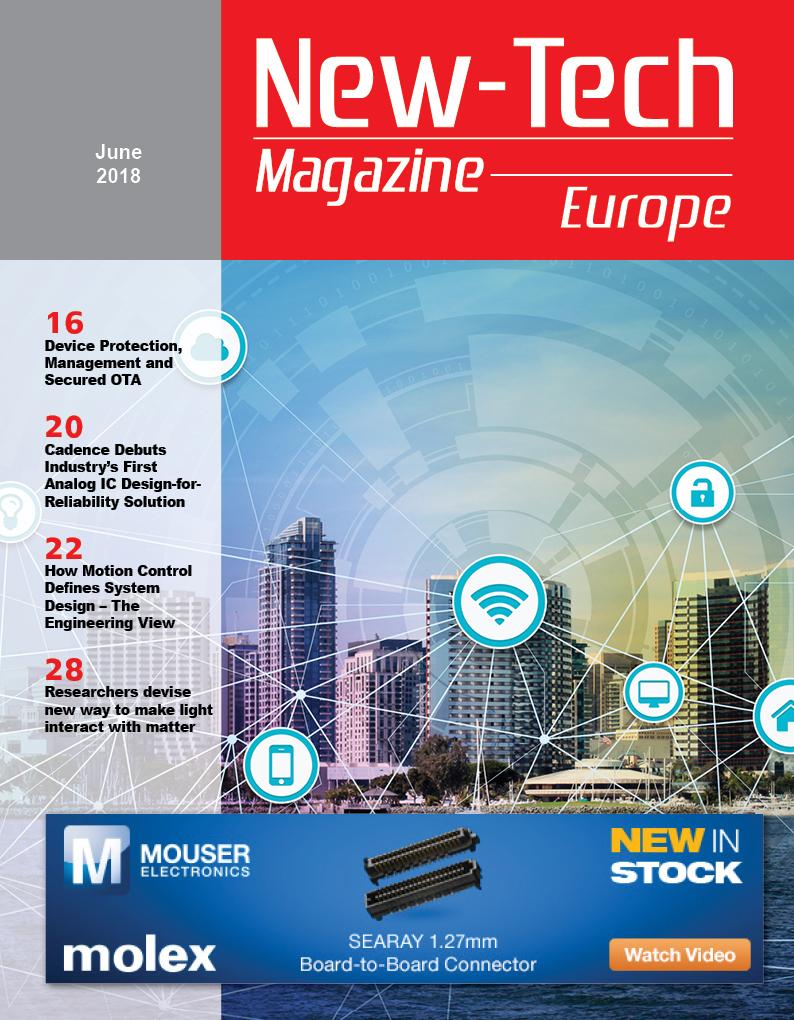 , New-Tech Europe Magazine | June 2018