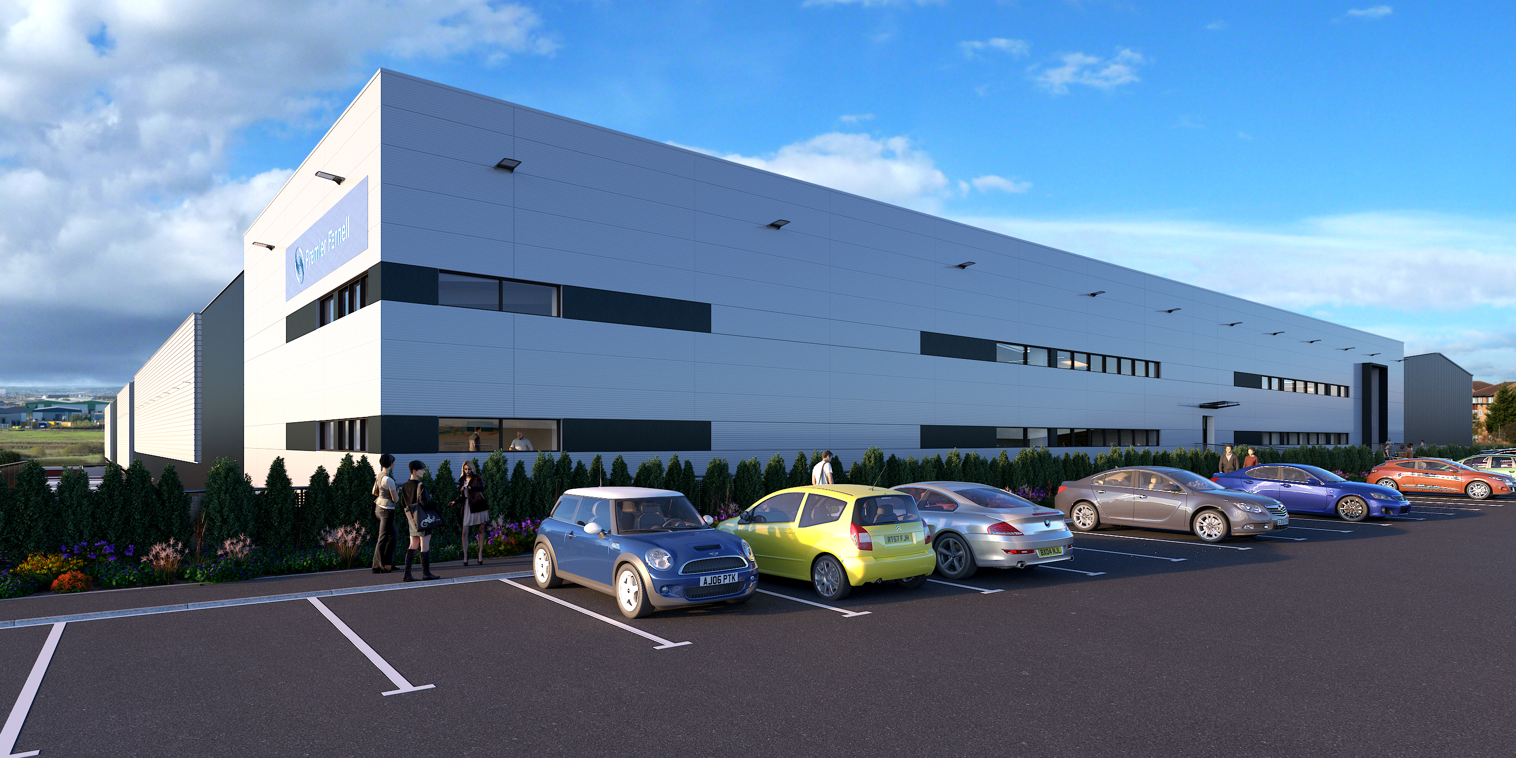 , Premier Farnell Signs Contract for State-of-the-art Order Fulfilment Solution for New Leeds Distribution Centre