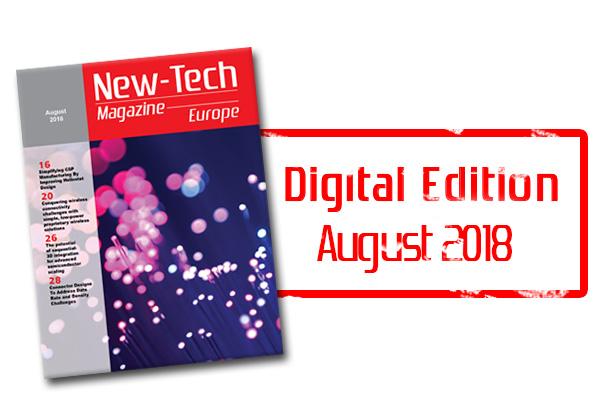 , New-Tech Europe Magazine | August 2018