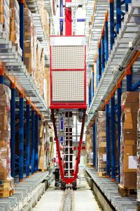 In warehouses, robots are making repetitive tasks such as moving boxes more efficient.