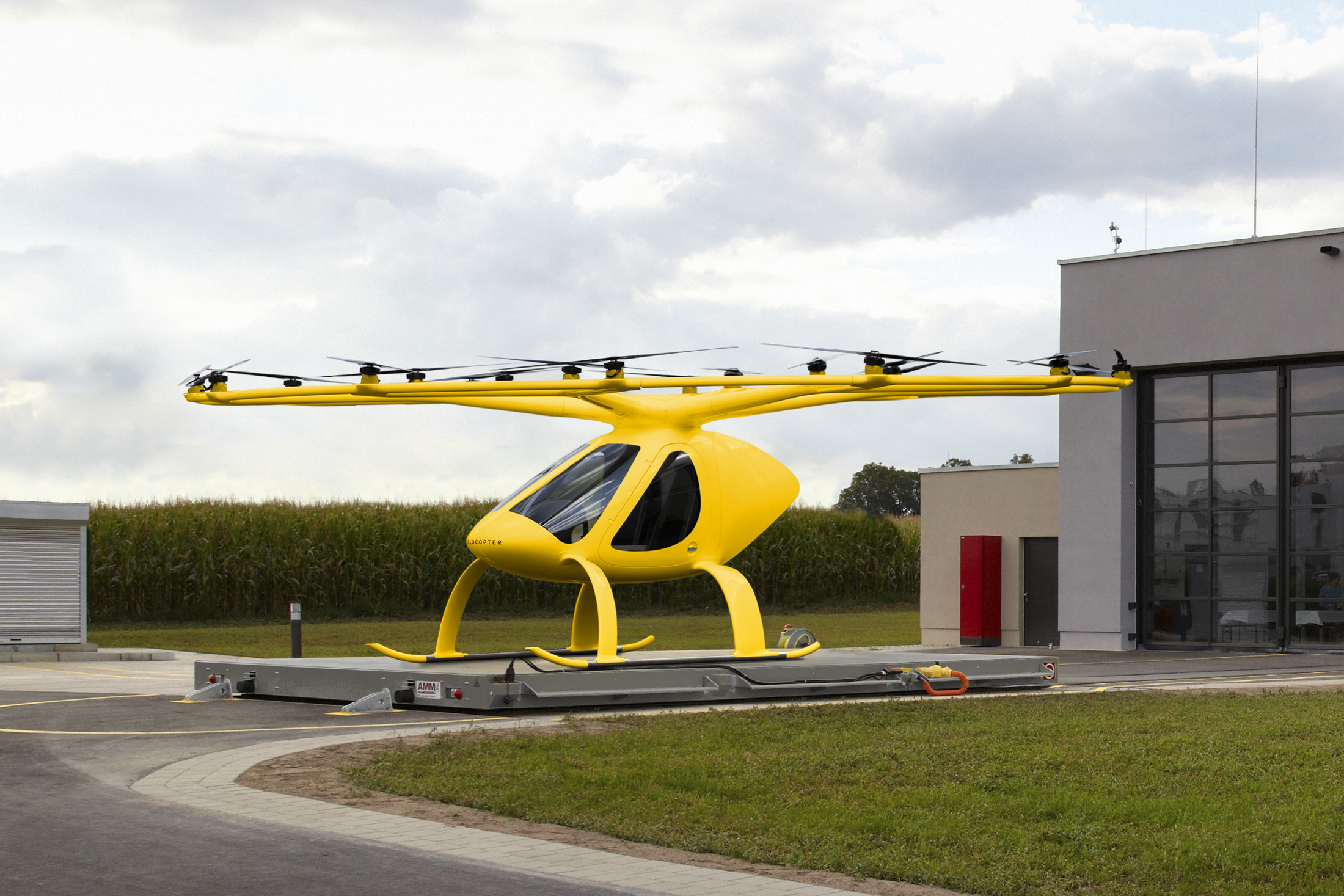 , ADAC air rescue testing manned multicopters in emergency medical services