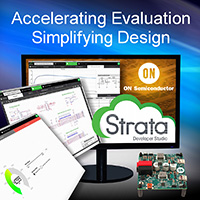 , ON Semiconductor Announces Strata Developer Studio™, Industry's Most Comprehensive Research, Evaluation and Design Tool