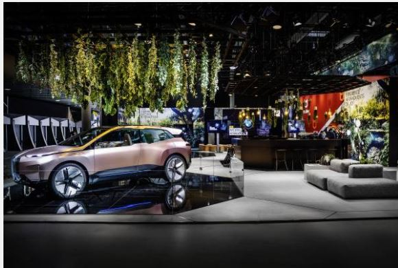 , Natural and fully multimodal interaction with the vehicle and its surroundings. BMW Group presents BMW Natural Interaction for the first time at Mobile World Congress 2019.