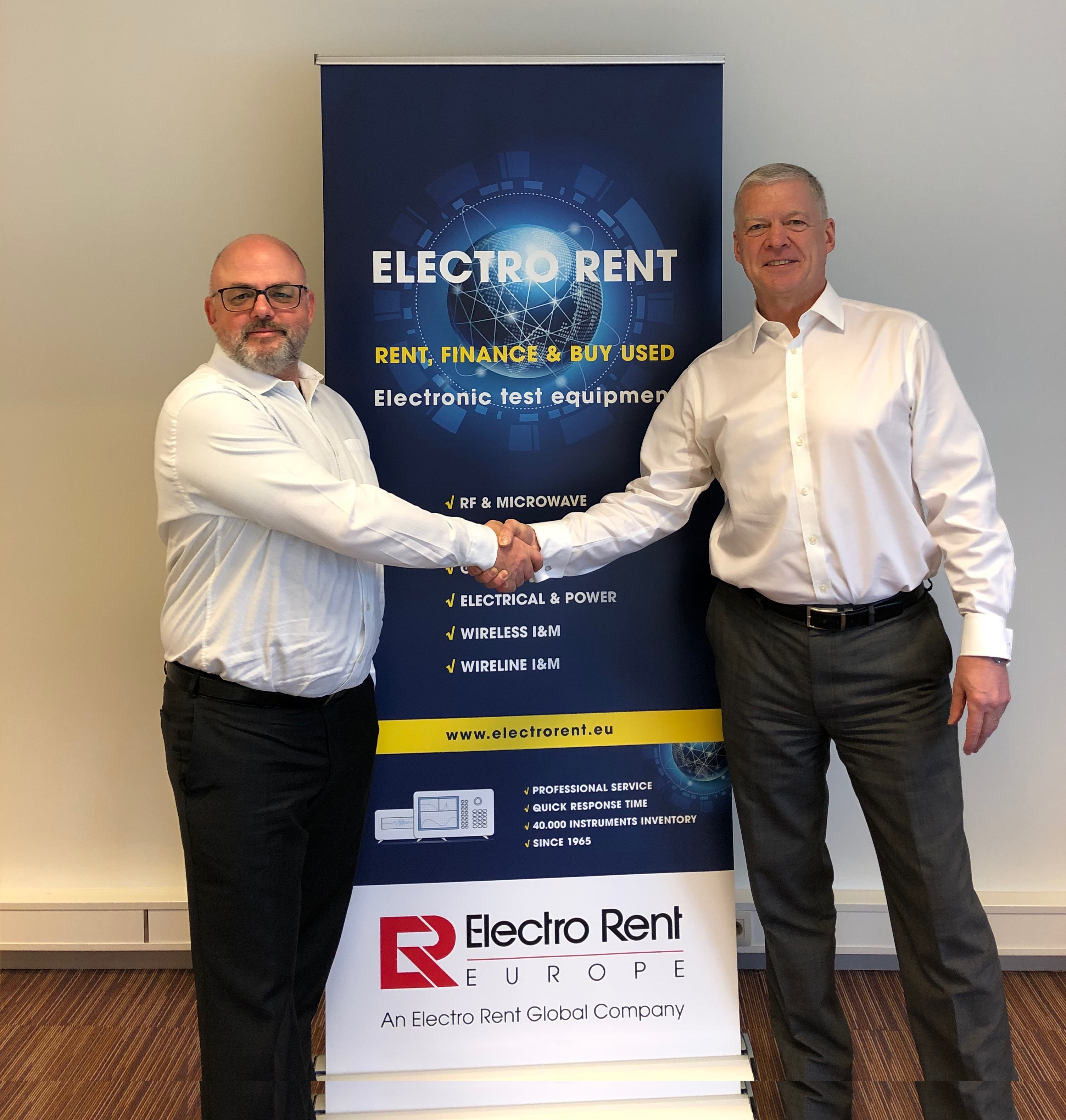 , Microlease and Electro Rent Europe combine to become Electro Rent Corporation  The two companies will unify their European operations to become the largest independent test and measurement equipment solutions provider