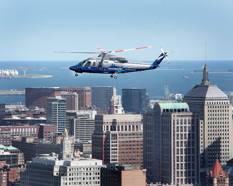 , Sikorsky's AAG and BLADE Announce Agreement for On-Demand Urban Mobility Option in New York City Using Sikorsky S-76® Helicopter