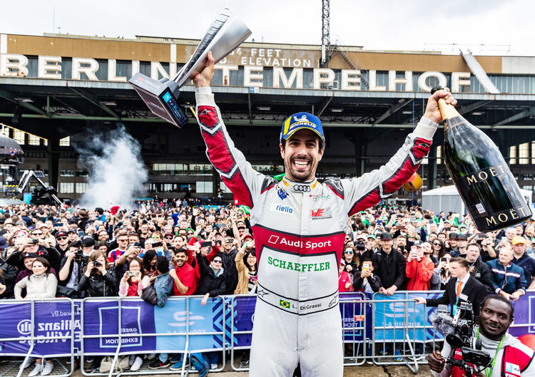 , Triumph in Berlin: Audi Sport ABT Schaeffler repeats home victory in Formula E