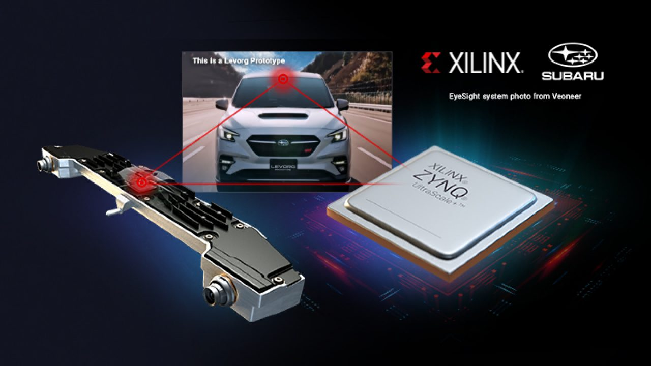 subaru selects xilinx to power new generation eyesight system new techeurope subaru selects xilinx to power new